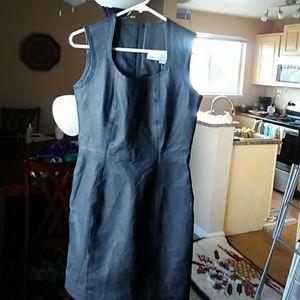 NWOT Artworks leather dress